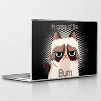 grumpy Laptop & iPad Skins featuring Grumpy  by Blaze-chan