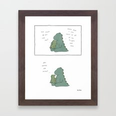 How Much  Framed Art Print