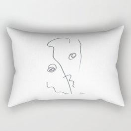 Demeter Moji d3 3-3 w Rectangular Pillow