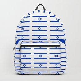 flag of israel 2 -יִשְׂרָאֵל ,israeli,Herzl,Jerusalem,Hebrew,Judaism,jew,David,Salomon. Backpack