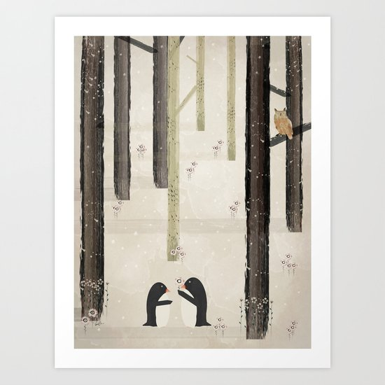 your my favourite Art Print
