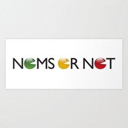 Nomsornot Art Print