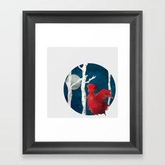 The Name's Red Framed Art Print