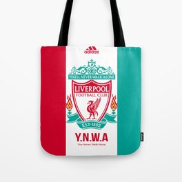 Liverpool Flat Design Tote Bag