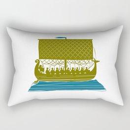 Viking Ship Rectangular Pillow