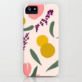 Abstract Garden iPhone Case