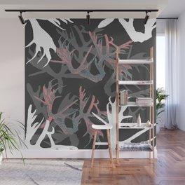 Horns Pinky Pattern Wall Mural