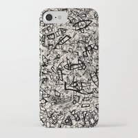 newspaper iPhone & iPod Cases featuring - newspaper - by Magdalla Del Fresto