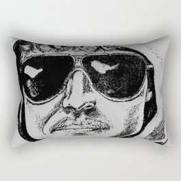 Unabomber Ted Kaczynski Police Sketch 1 Rectangular Pillow