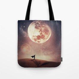 moon hero Tote Bag