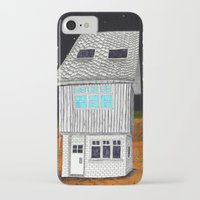 moonrise kingdom iPhone & iPod Cases featuring Moonrise Kingdom by Veronique de Jong · illustration