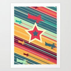 A Dandy guy... In Space! Art Print