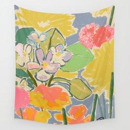 MORNING GARDEN Wall Tapestry