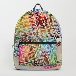 Toronto Street Map Backpack