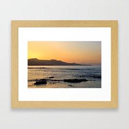 Northern Gran Canaria's Coastline Framed Art Print