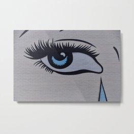 L'oeil, the #eye Metal Print