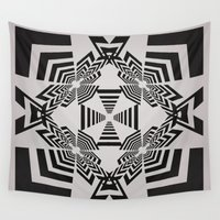 labyrinth Wall Tapestries featuring Labyrinth by 13Halliwell