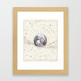 Pathfinder Bright Framed Art Print