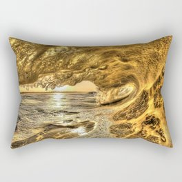 Chris Harsh Photos * Breaking Wave At Dawn Rectangular Pillow