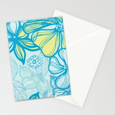 Oceanic Floral  Stationery Cards