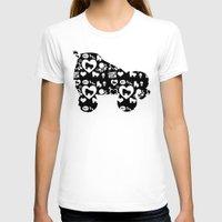 roller derby T-shirts featuring Roller Derby Skate Print by Mean Streak