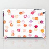 polka iPad Cases featuring Polka by Eleanor Amelia