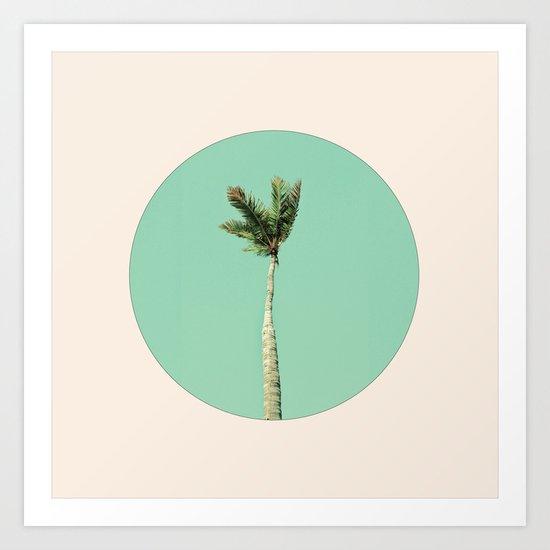 The Palm Life Art Print