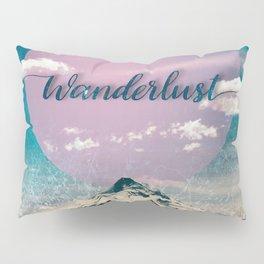 Wanderlust Mountain Pillow Sham
