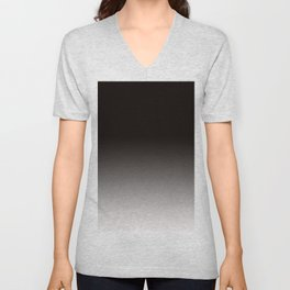 Monochromatic Background, Faded Black to Grey Unisex V-Neck