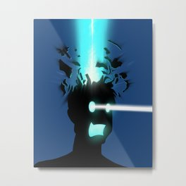 Mind Blown Metal Print