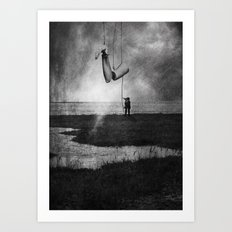The Puppeteer Art Print