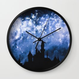 Sleeping Beauty Castle Wall Clock