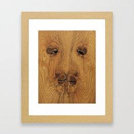 Lion Knot art Framed Art Print