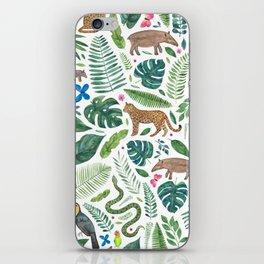 Jungle/Tropical Pattern iPhone Skin