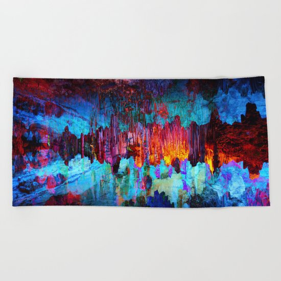 Everything is nothing (therefore it was beautiful) Beach Towel