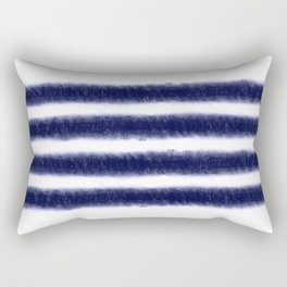 Indigo Stripes Rectangular Pillow