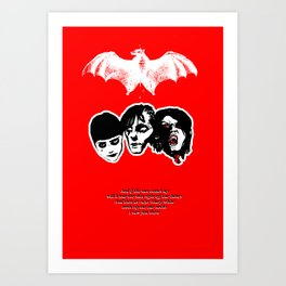 Vamps Goths & Emos Art Print