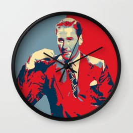 Errol Flynn Wall Clock