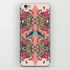 Love Birds II (pink edition) iPhone Skin