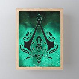 Assassin Framed Mini Art Print