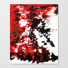 RED CHANEL BY Cd KIRVEN Canvas Print