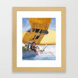 Caribbean Charter Framed Art Print