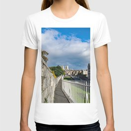 York City Roman wall and Minster T-shirt