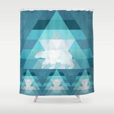 Polar Shower Curtain