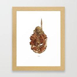 Bascarsija Framed Art Print