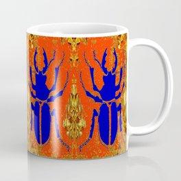 Blue Staghorn Beetle Coffee Mug