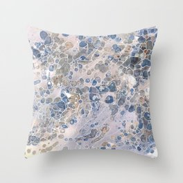 Pebbles in the Creek #2 Throw Pillow