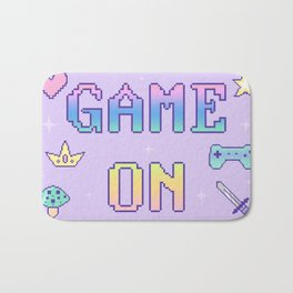 Game On (pastel) Bath Mat
