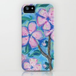 Cherry Blossom Composition #1 iPhone Case