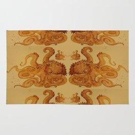 Lurking Octopus  Rug